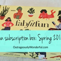 FabFitFun subscription box: Spring 2018 review
