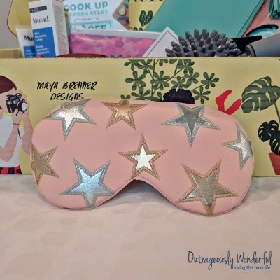 For me, the sleeper hit of the FabFitFun spring box is the Free People x Understated Leather starry-eyed travel eye mask. (See what I did there?) This soft, vegan leather mask has a cooling gel insert tucked inside. For me, spring comes with allergies and a cooling eye mask is just what my eyes need when the pollen is out. The mask has an adjustable strap, so even those with larger noggins can find a setting that is comfortable for them. Plus, the metallic stars scattered across the pale pink vegan leather are adorable. If you want to use this as a sleeping mask, I can promise that it will keep your neighbor's security lights at bay. Retail value: $40.