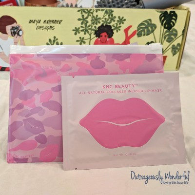 According to FabFitFun, the KNC Beauty collagen infused lip masks work to plump and hydrate delicate lips. Infused with collagen, rose flower oil, cherry extract and vitamin E, this gel-textured treatment is supposed to leave you with the perfect pout. I tried out the lip mask and while I'm not sure I have the perfect pout, it did make my dry lips softer and more hydrated. Retail value: $24.99