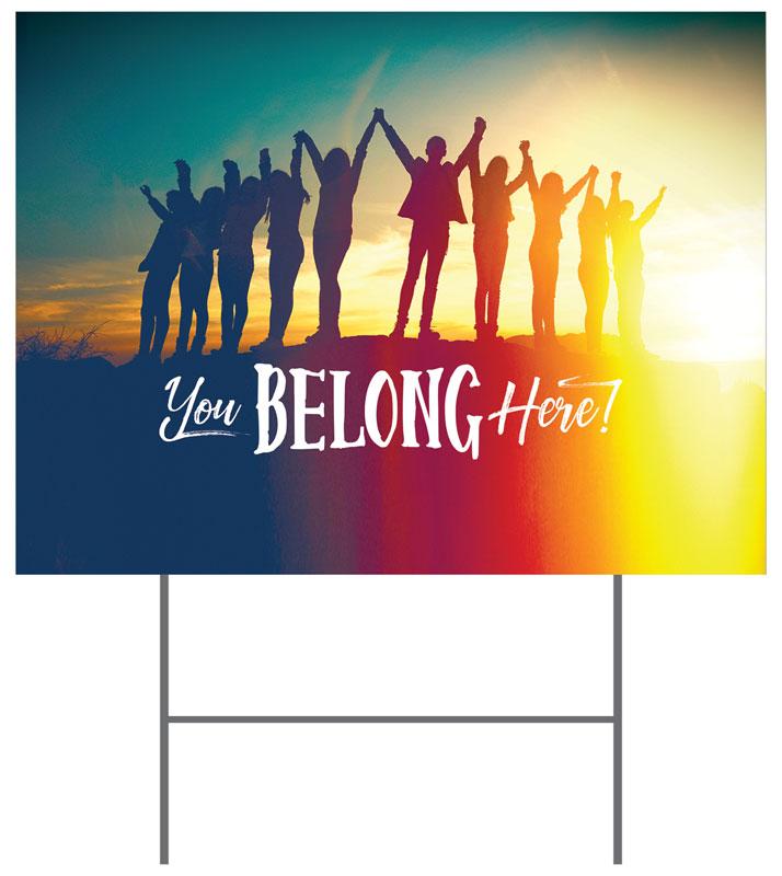 free church advertising