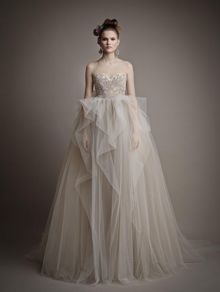 Ersa Atelier\'s Blush Bridal Gowns - Outre Bride