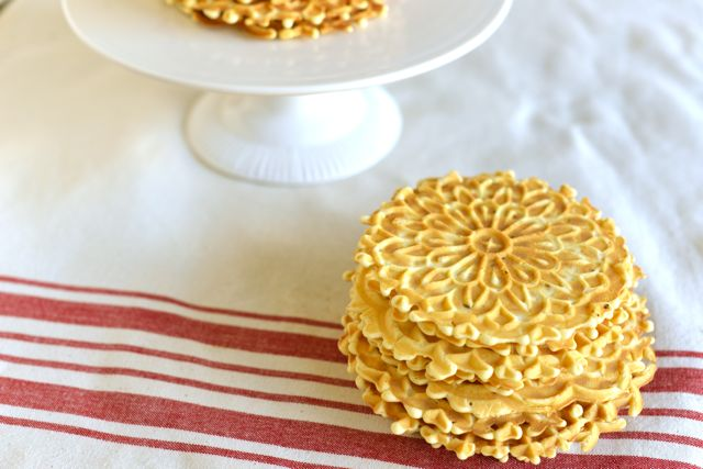 Stacks of Pizzelles