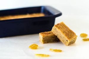 Cardamom and Candied Ginger Bars