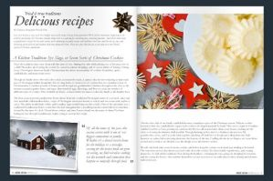 My Article in Nordic Design Christmas Magazine 2013