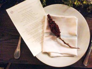 Redzepi Dinner Table Setting