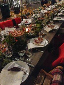 Redzepi Event Dinner Table