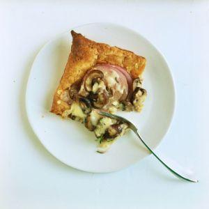 Jarlsberg Onion Tart