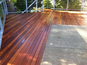 Refurbished deck by Outside Concepts Eastern branch