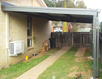 Single carport by Outside Concepts