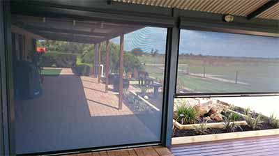 Busselton cafe blinds can help keep your outdoor living area cooler this summer