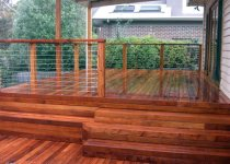 Maintaining outdoor structures is great project to tackle while on holidays