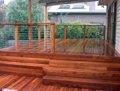 A large Melbourne timber deck can provide countless entertainment and relaxation opportunities
