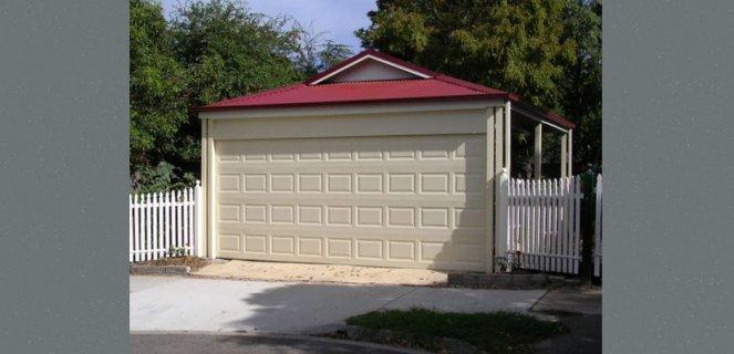 Carport With Garage Door : Carport with a garage door outside concepts