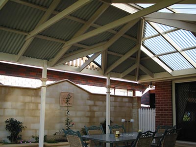 Polycarbonate patio roof sheeting is a great product and is a clear winner if you follow some simple maintenance tips.