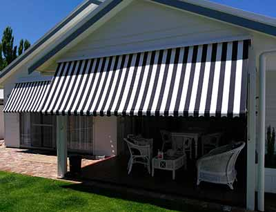 Awnings in Busselton - what a cool idea!