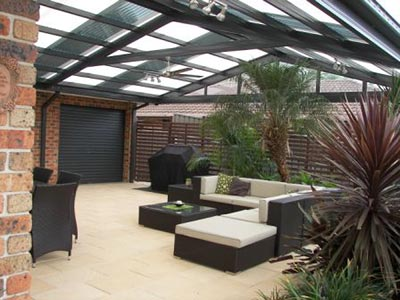 Give your outdoor living area a good clean this Easter.