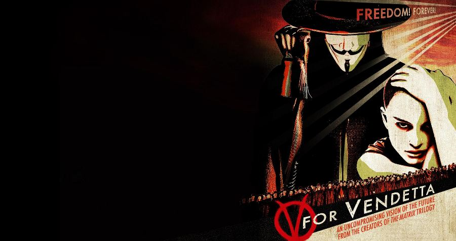 v for vendetta terrorist The broadcast of the heroic forces of good murdering the terrorist v.