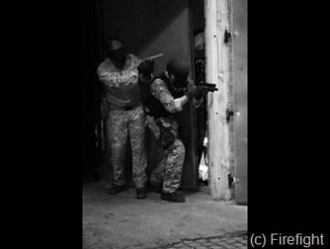 (c) Firefight