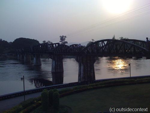 The Bridge on the River Kwai itself
