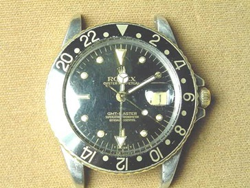 An old Rolex GMT Master