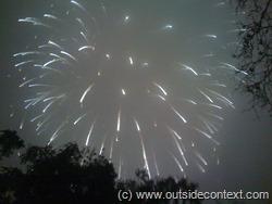 Giant fireworks