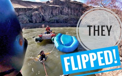 Whitewater Rafting the Deschutes River