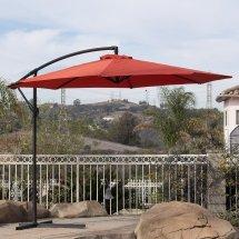 Cantilever Umbrella. Offset Umbrella