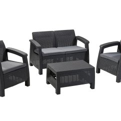 Spring Haven Brown All Weather Wicker Patio Sofa White Twin Sleeper Outdoor Furniture Without Cushions