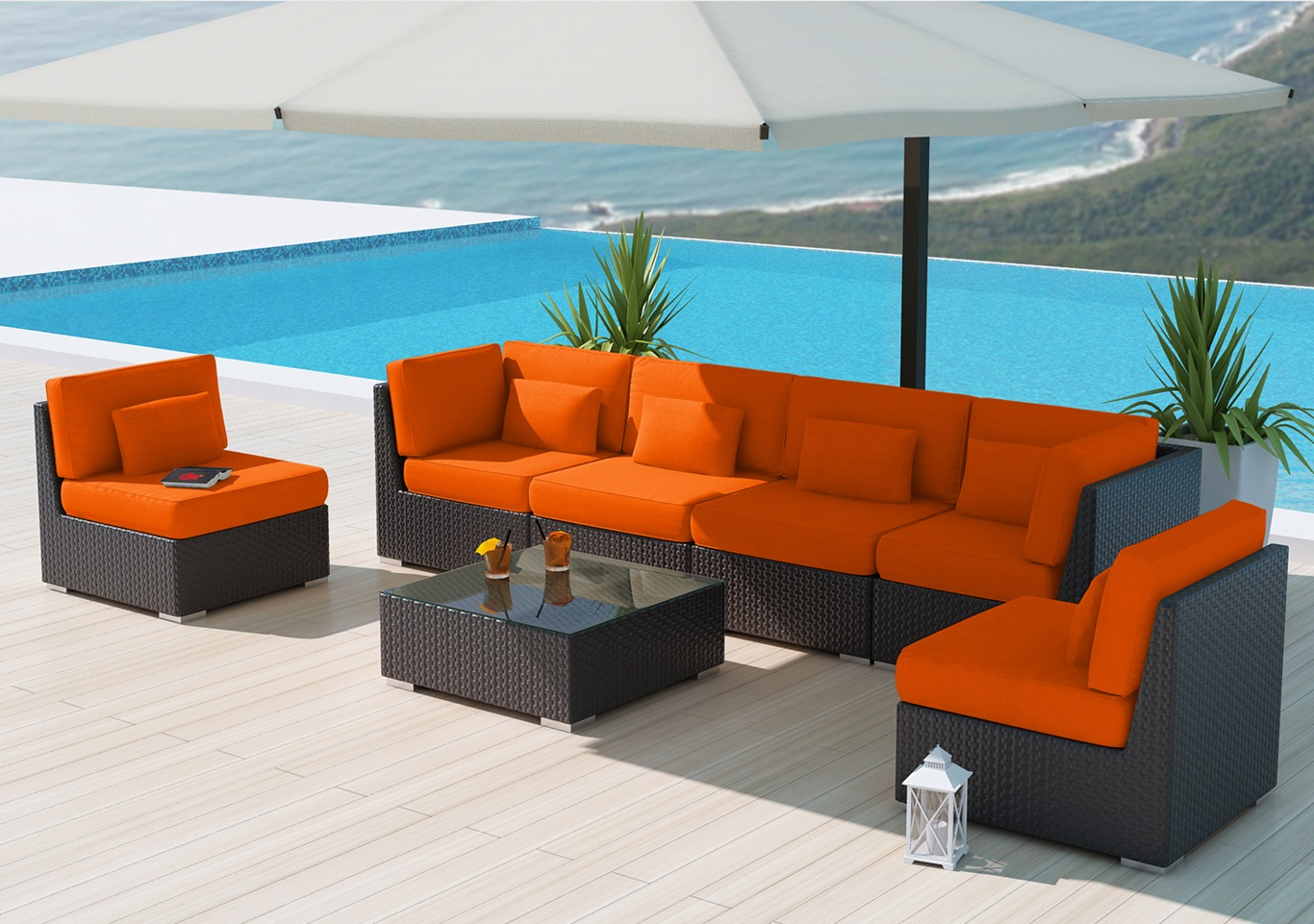 orange outdoor chairs wing chair with ottoman india ten best patio furniture brands for living