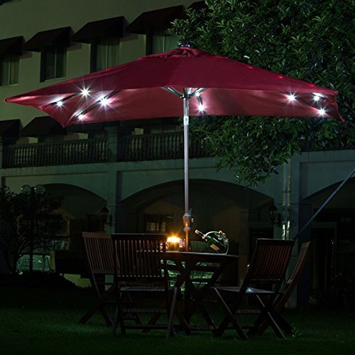 Rectangular Led Umbrella Lights