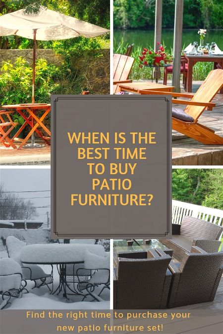 best time to buy patio furniture