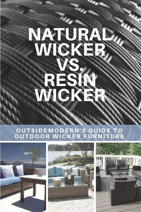 natural wicker vs plastic wicker patio