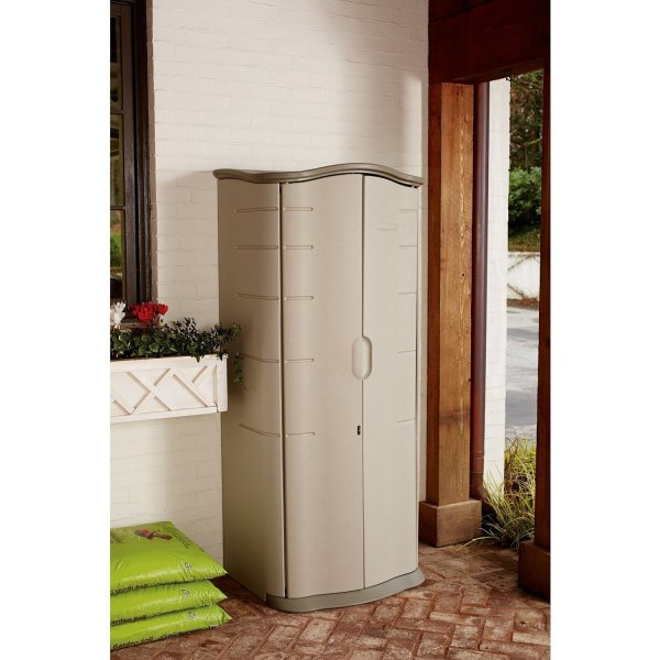 Rubbermaid 121-gallon Vertical Storage Shed. And Information Outsidemodern