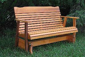 porch glider bench
