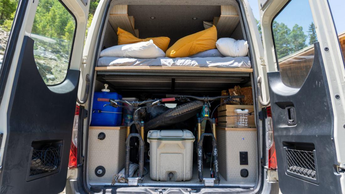 Why Every Van Build Needs a Garage Door