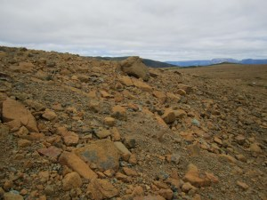 The Rocks That Make Up The Trail Of The Tablelands Trail