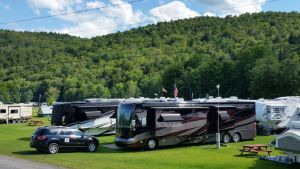 Our Site At The Abel Mountain Campground In Braintree, Vermont