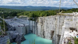 Granite Quarry In Barre, Vermont