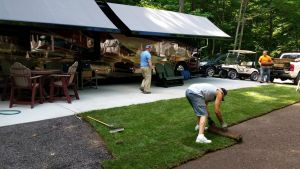July 2015 - Rolling Out Of The Sod