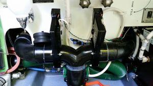 Installed dump valves