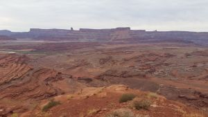 Part Of The Chicken Corner's Off Roading Trail In Moab, Utah