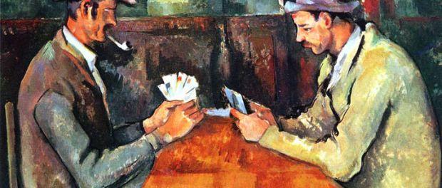 giocatori carte cezanne