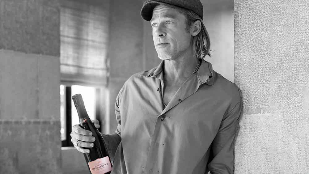 Champagne-Fleur-de-Miraval-Brad-Pitt