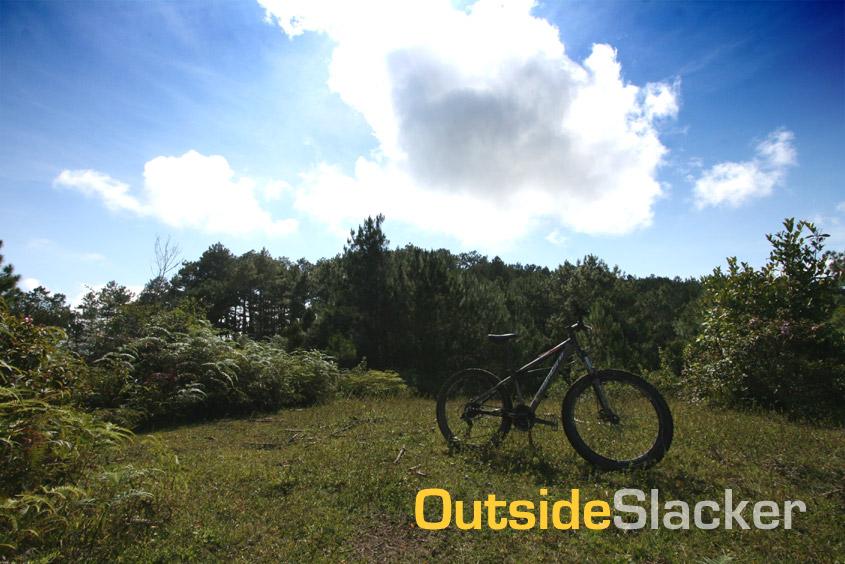 Biking in Sagada