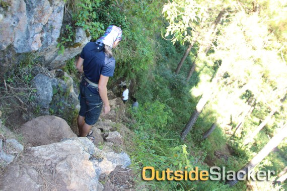 Rockclimbing trek
