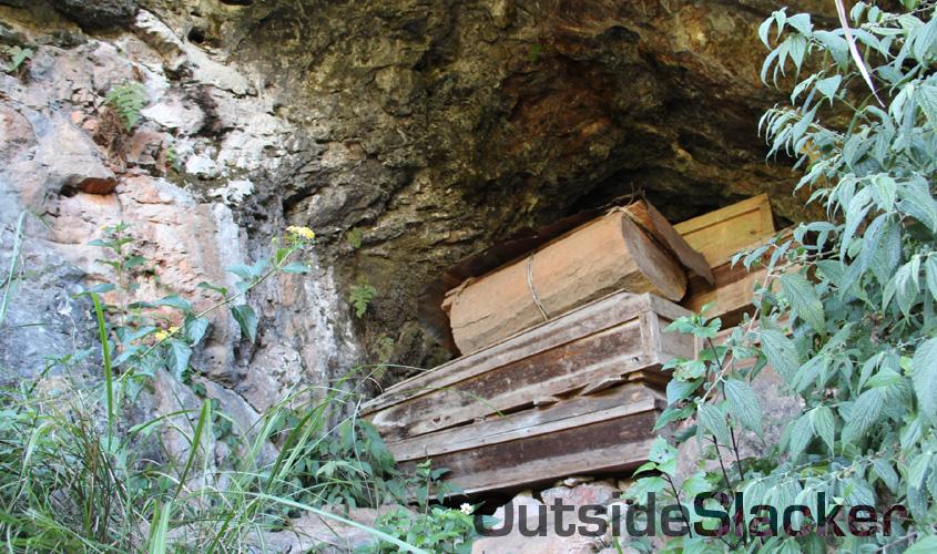 Coffin caves in Sagada