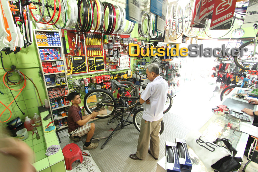 Bikeshop customer