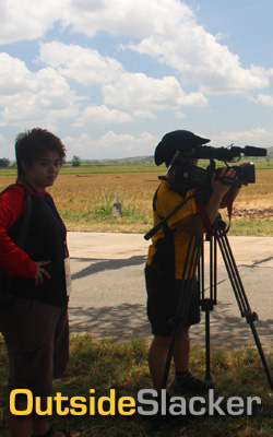 Living Asia TV crew covers Le Tour de Filipinas 2013