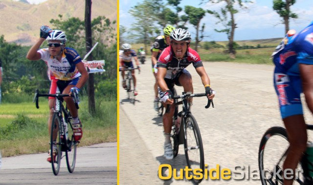 The heat punishes the riders of Le Tour de Filipinas 2013