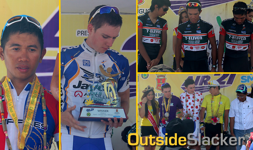 Winners of Stage 2 of Le Tour de Filipinas 2013